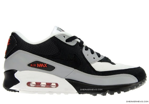 finest selection 44b99 3d595 Nike Air Max 90 - Black - Grey - Red
