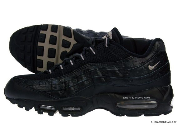 info for af1a8 9207a Nike Air Max 95 - Black Ostrich - JD Sports Exclusive