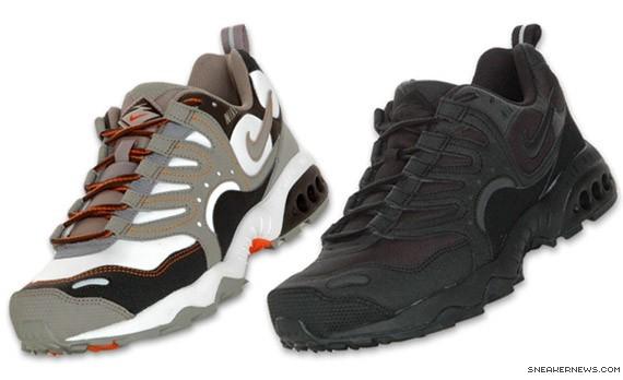 Nike Air Terra Humara - Black-Black + Tar-Light Taupe. Originally released  in 1997 ...
