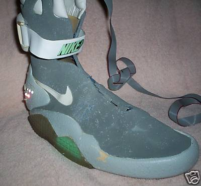 Nike Mag - Marty McFly's - Back to the Future II Prototype