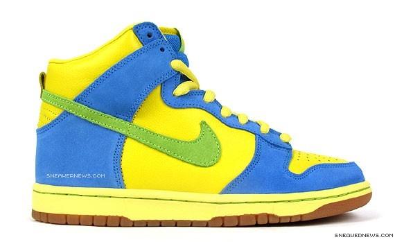 Nike Dunk High Premium SB - Marge Simpson