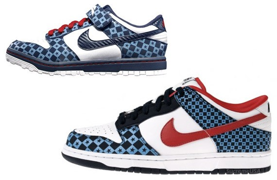 size 40 14b45 dcf3d Nike 6.0 Dunk Low - Stars - Red - White - Blue