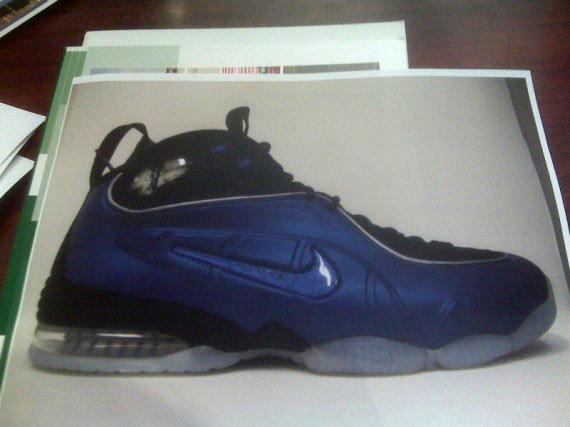 Nike Air 1/2 Cent Fusion - Penny Hardaway - Black - Blue