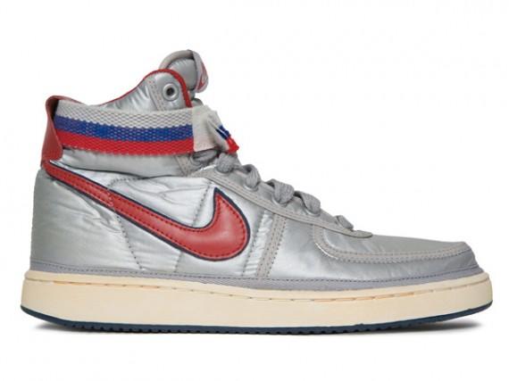 Nike Vandal Vintage Silver Red Sneakernews Com