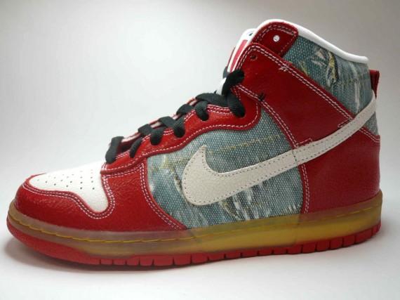 Nike Dunk High Premium SB - Shoe Goo - Silver - White - SneakerNews.com 2c36ce84c4b2