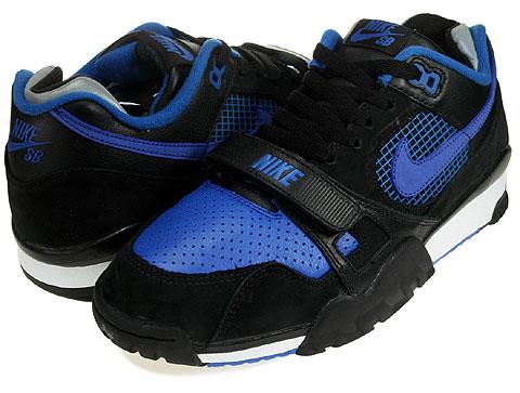 best cheap b6827 d81e1 Nike Air Trainer II SB - Black - Blue