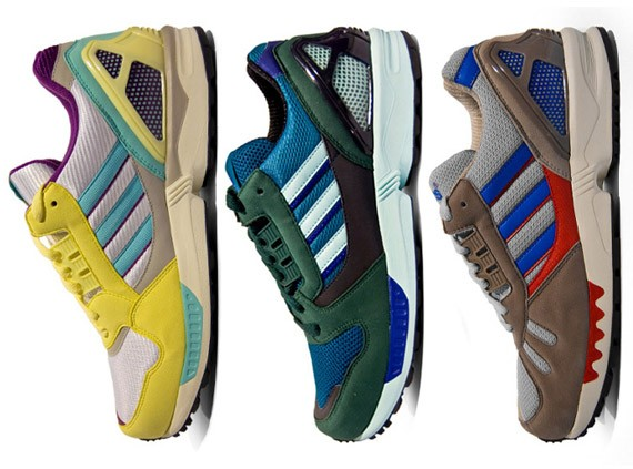 online store df839 645ba Adidas ZX 7000, ZX 8000, ZX 9000 – Spring 2009 Preview