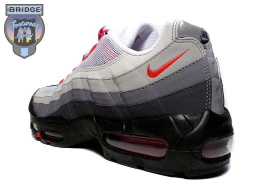 Nike Air Max 95 Svart Varsity Red v5lsBmW