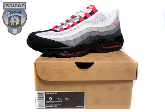 Nike Air Max 95 \u0026quot;Chili\u0026quot; - Black - Varsity Red - 2008 Retro - SneakerNews.com