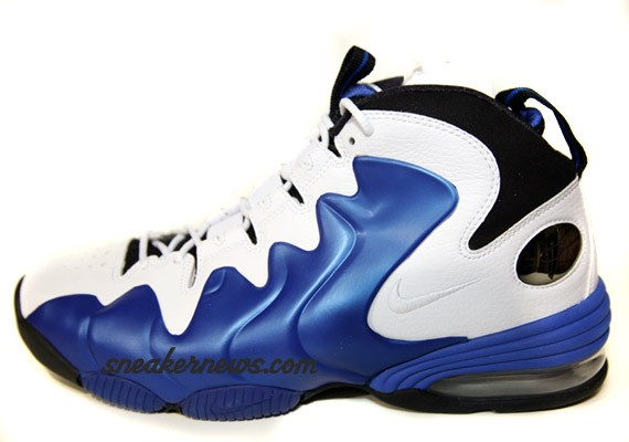 Nike Air Penny III 3 Liquid White Black Royal Blue Spring 2009