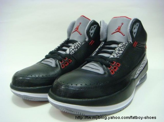 Air Jordan 2.5 Black Cement Grey Red