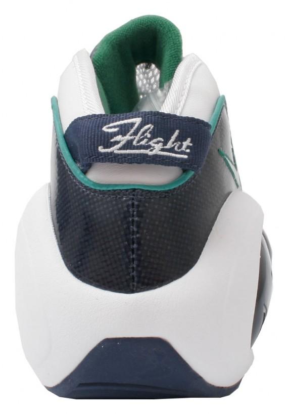 Nike Air Zoom Flight Premium - White-Midnight Navy-Pine Green