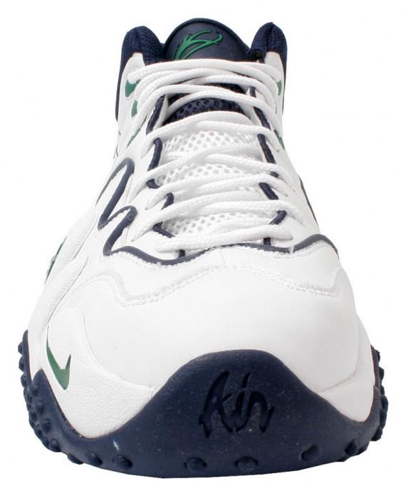 69688c35a301 Nike Air Zoom Flight Five B - White - Pine Green - SneakerNews.com