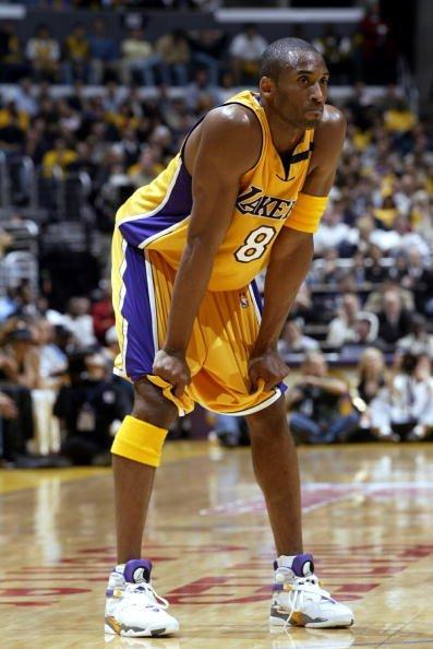 more photos 43563 92a61 ... Kobe Bryant wearing Air Jordans in Games NikeTalk ...