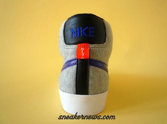 Nike Blazer Mid Premium - Loopwheeler