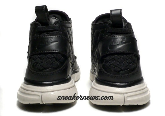 Nike Free Hybrid Boot Premium - Black Quilted