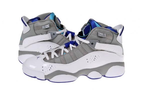Air Jordan Six Rings - Medium Grey/ Vivid Blue-White-Concord