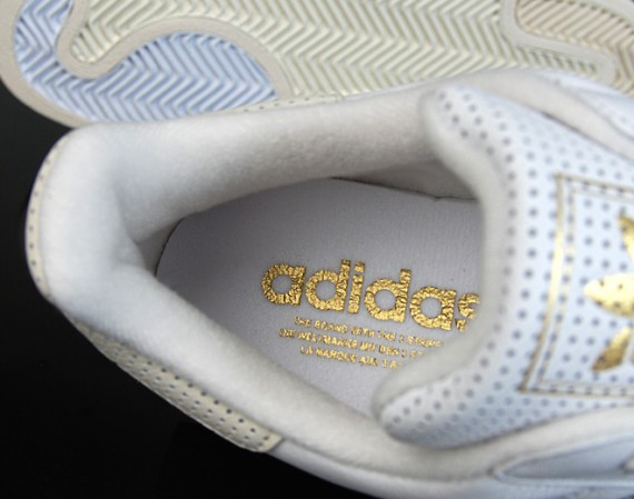 Adidas Superstar II Lux - Perforated Leather - White - SneakerNews.com af7b5b8e0e30