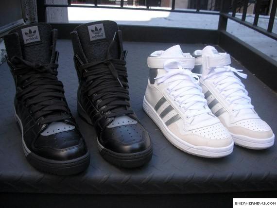 sale retailer 427f5 2e8d7 Adidas Conductor Hi Felt + Adidas Concord High
