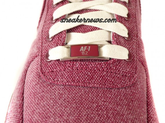 Nike Air Force 1 Supreme - Red Denim - Tier 0