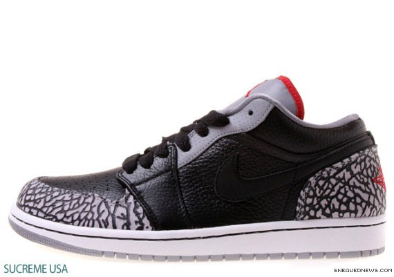 Air Jordan 1 Low Phat Black