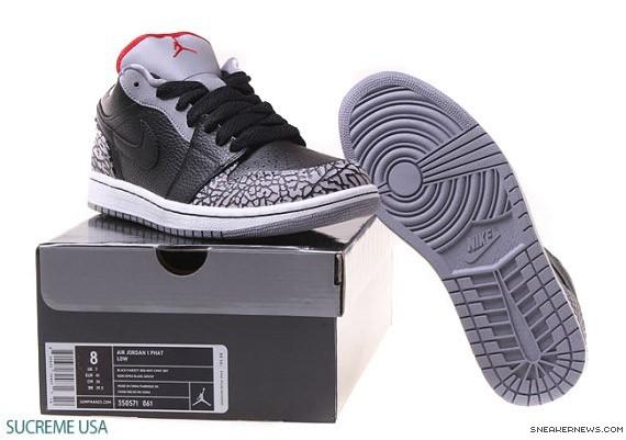 Air Jordan 1 Low - Cemento Gris TLVPM