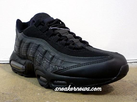 pretty nice 44a1e 98240 on sale Nike Air Max 95 Black 3M