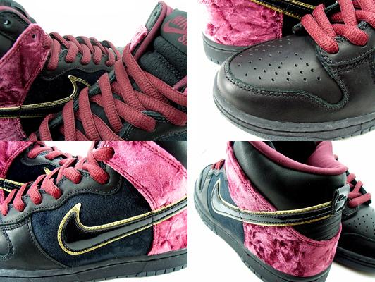 rose nike shox pour les filles - Nike Dunk High SB Premium - U2 Bloody Sunday - SneakerNews.com