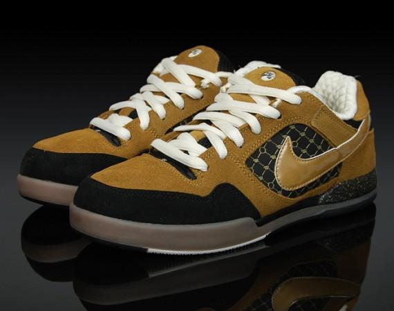 Nike SB P-Rod 2 - Gold - Black