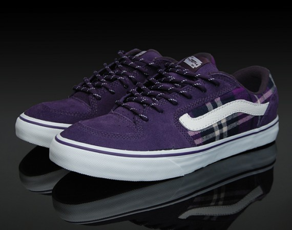 Vans TNT 4 - Flannel - Purple - SneakerNews.com 719608dac