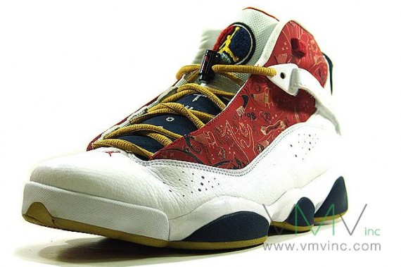 Air Jordan Six (6) Rings - White - Varsity Red - Midnight Navy ... 7bbcaffab1