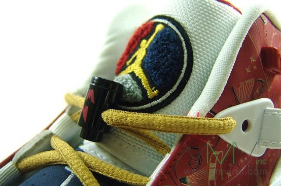 dbdb477c6e06d8 high-quality Air Jordan Six 6 Rings White Varsity Red Midnight Navy ...