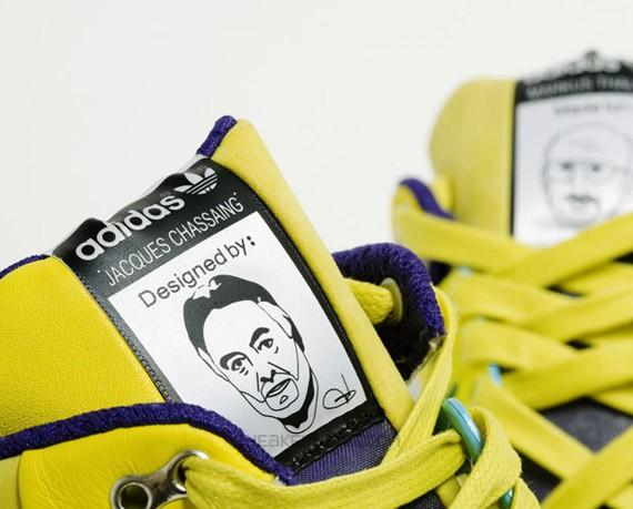 adidas aZX - Jacques Chassaing & Markus Thaler - ZX 8000