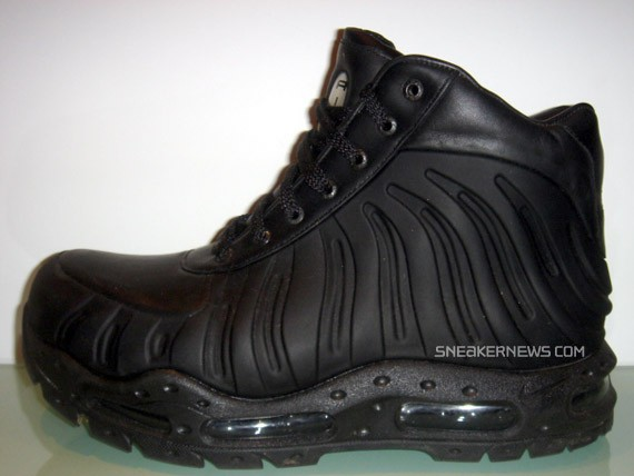 nike air max foamdome boot black