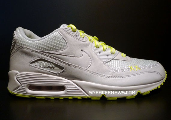 a4d14e45722 Nike Air Max 90 x Original Fake (Kaws) - White Volt - SneakerNews.com