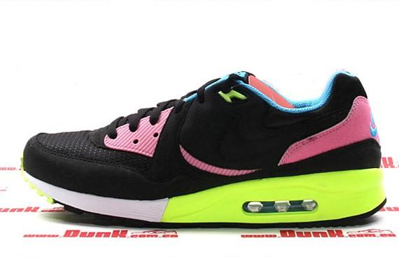 Nike Air Max Light - Black - Volt - Pink - SneakerNews.com 36d683644