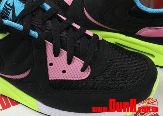 buy popular 960a5 9fdc7 Nike Air Max Light - Black - Volt - Pink - SneakerNews.com