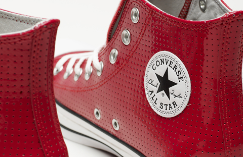 Converse x Barneys – Chuck Taylor – Perforated Patent Leather