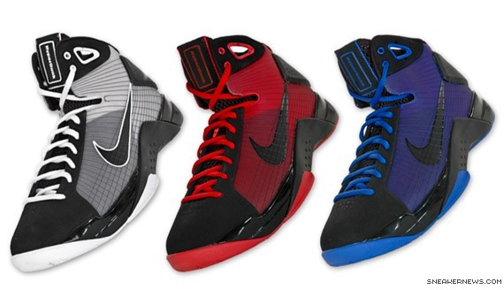 Nike Hyperdunk Fall 2008 Colors