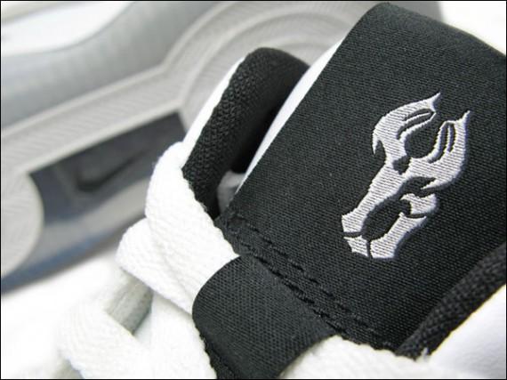Nike Air Force 25 Low - Yi Jian Lian PE - White Black - SneakerNews.com 8e7b4ef186dc