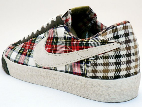 Nike Womens Blazer Low - Tartan - Plaid - Pack