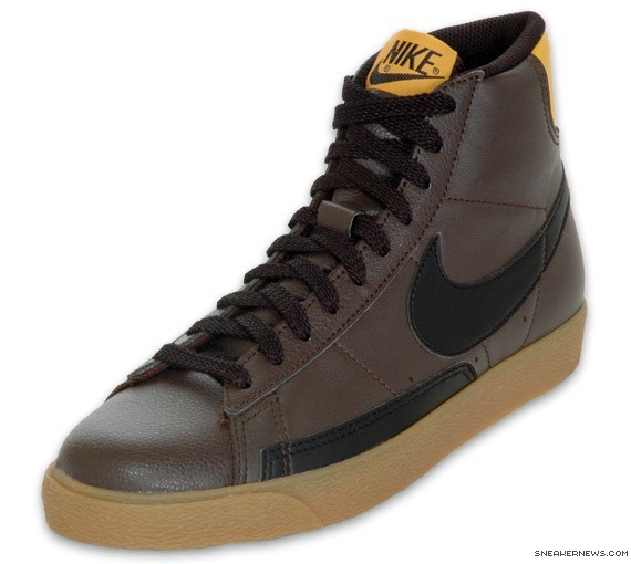 nike blazer brown