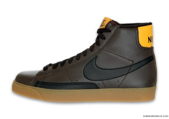 Nike Blazer High - NYX - Dark Cinder - Yellow Ochre - SneakerNews.com 42f7d4a5eaf3