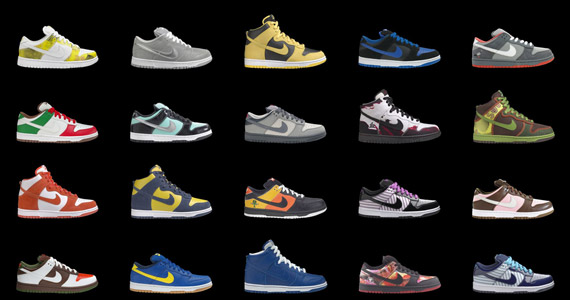 Sneakerfolio | Nike Shoes Archive Collection 2008