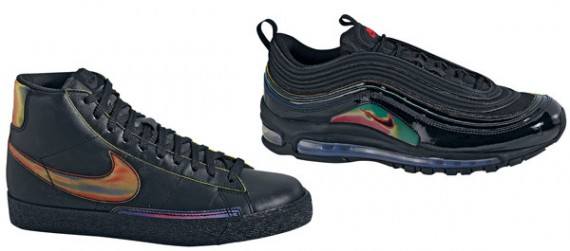 Nike Blazer High Premium & Nike Air Max 97 - Playstation 3