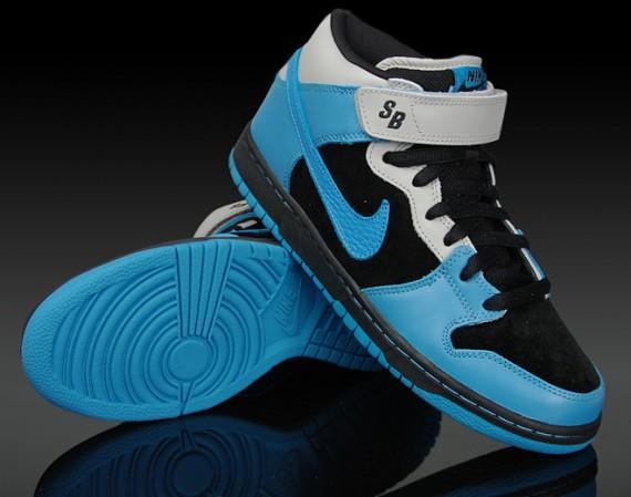 1b49d4b45052 Nike Dunk Mid Pro SB - Aqua Fuel - Black - Aqua Blue - SneakerNews.com