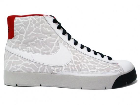 Nike Super Blazer High Premium White Red Black
