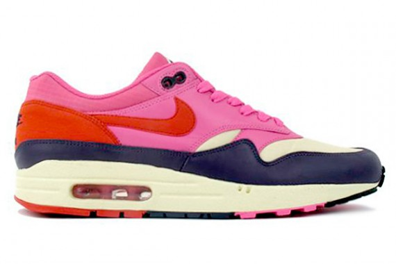 Nike WMNS Air Max 1 Alabaster Dragon Red