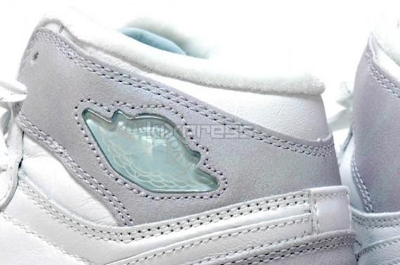 Air Jordan 1 High GS - Metallic Silver - Pale Blue