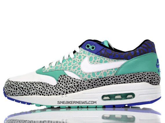 Nike Air Max 1 Premium - White - Mint - Safari Print - SneakerNews.com b2098bbfe